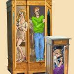 книги люди из шкафа